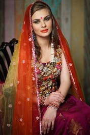 Indian traditional bridal outfit
