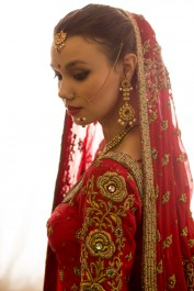 Traditional Indian Bride costume