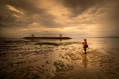 Dawn, Sanur Beach, Bali