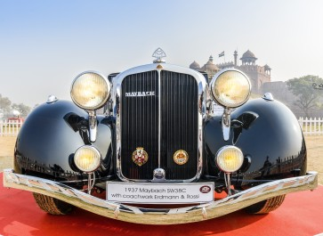 Maybach SW38C vintage car 1937 model