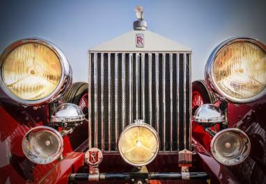 Rolls Royce Phantom 1 Sport Saloon, 1926 model, 3127 cc 6-cylinders