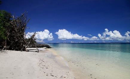 The Blue Beach