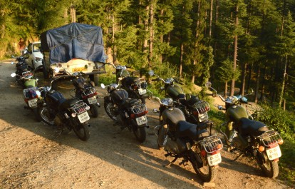 Bikers ready to move