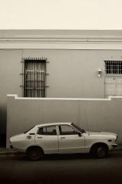 Car and Wall