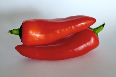 Red Peppers Stacked