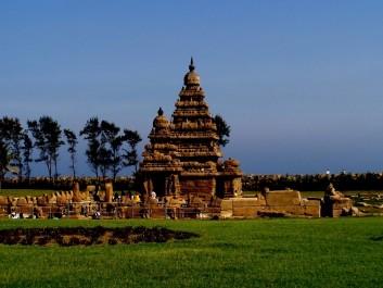 The Shore Temple at Mahabalipuram