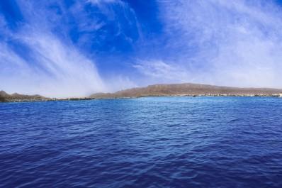 Panorama of beautiful Ana Sagar Lake.