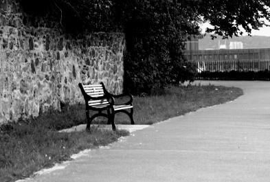 Waiting at Calton Hill