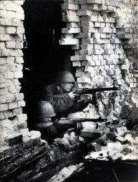 Allied Soldiers during the siege of Leningrad