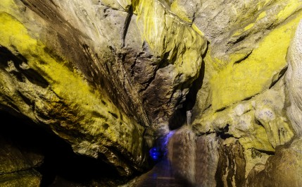 Colorful Borra Caves, Vizag