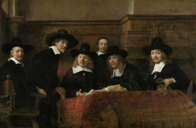 The Sampling Officials of the Amsterdam Drapers' Guild, known as 'The Syndics', 1662