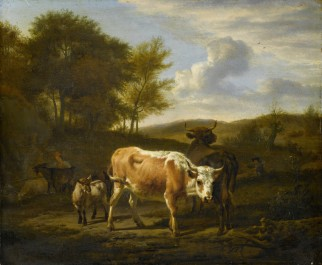 Mountainous Landscape with Cows, 1663