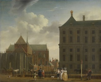 The Nieuwe Kerk and the Town Hall on the Dam in Amsterdam, c. 1780 - c. 1790