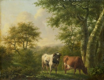 Landscape with Cattle, 1827