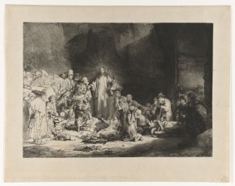 Christ Preaching (Hundred Guilder Print), c. 1646 - c. 1650