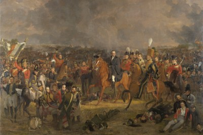 The Battle of Waterloo, 1824