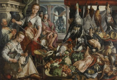 The well-stocked kitchen, 1566