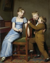 Piano Practice Interrupted, 1813
