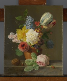 Still Life with Flowers and Nuts, c. 1830