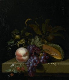 Still Life with Fruit, 1673