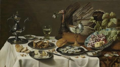 Still Life with a Turkey Pie, 1627