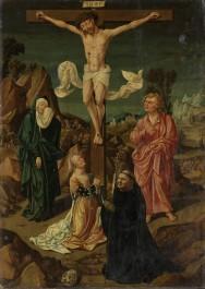 Crucifixion with the Virgin, Saint John, Mary Magdalene, a Donor, 1500 - 1530
