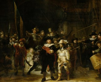 Militia Company of District II under the Command of Captain Frans Banninck Cocq, Known as the 'Night Watch', 1642