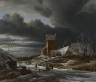 Winter Landscape, c. 1665