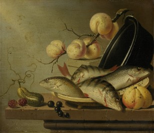 Still Life with Fish and Fruit, 1652