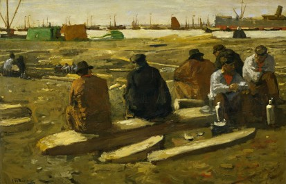 Purchased time in the pit at the Van Diemen in Amsterdam, 1897