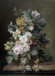 Still Life with Flowers, 1815 - 1839