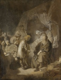 Joseph Telling his Dreams to his Parents and Brothers, 1633