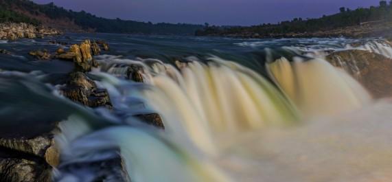 Where Mighty Narmada Falls....