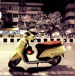 The Yellow Scooter