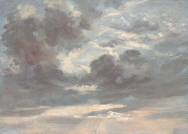 Cloud Study Stormy Sunset 1821-1822