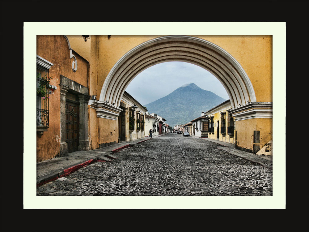 Arch in Antiqua Guatemala